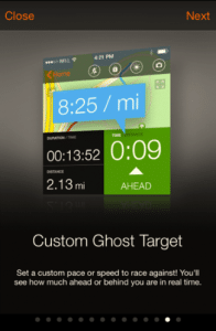 Sports Tracker - Custom Ghost Target