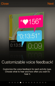 Sports Tracker - Customizable Voice Feedback