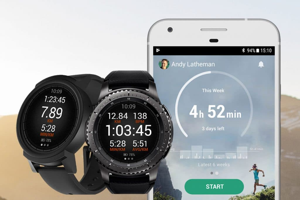 Sports Tracker and Android wear