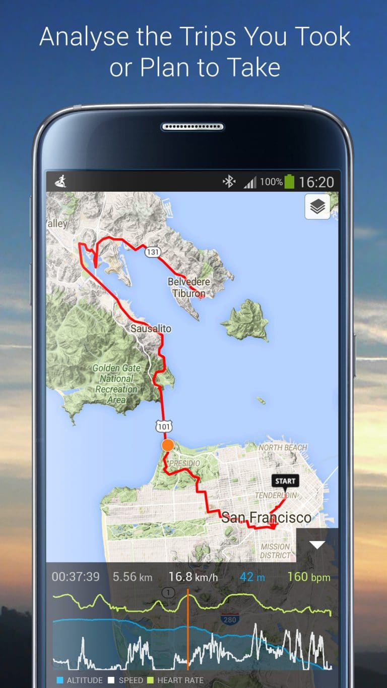 Improve your outdoor training with detailed maps! - Sports Tracker