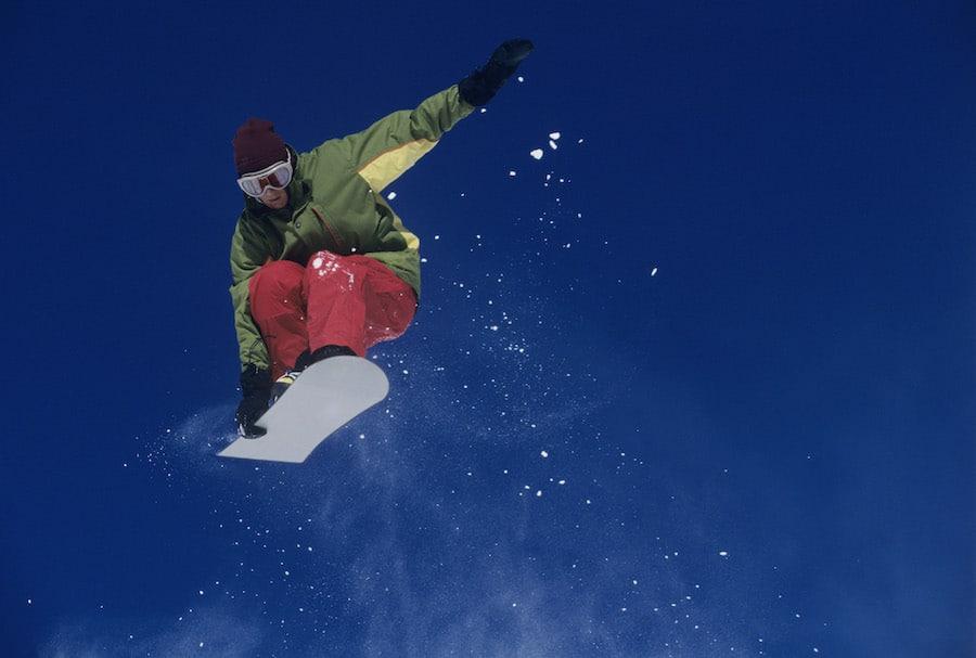 sports tracker snowboarding