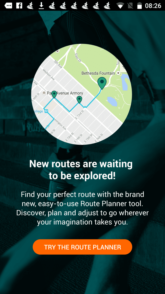 Plan your route with the route planner in Android
