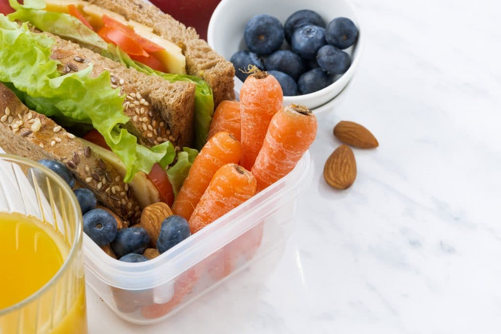 Grab a healthy snack box with you