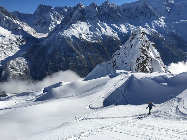 Skitouring takes you to places