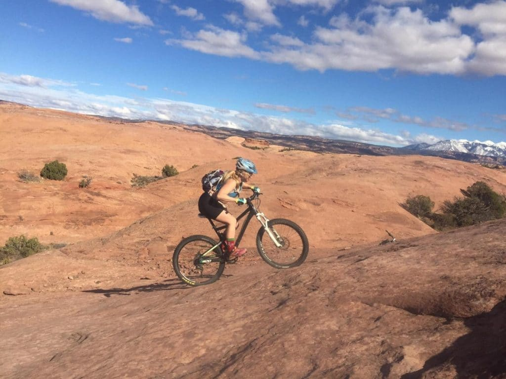 Picture from an active lifestyle Sports Tracker athlete Roxy McKnight