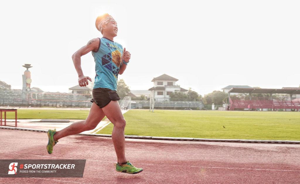Sports Tracker runner