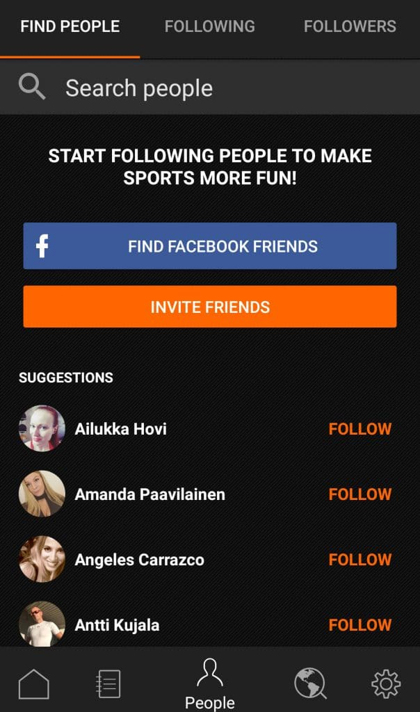 Friends: How to invite and follow friends on app - Sports