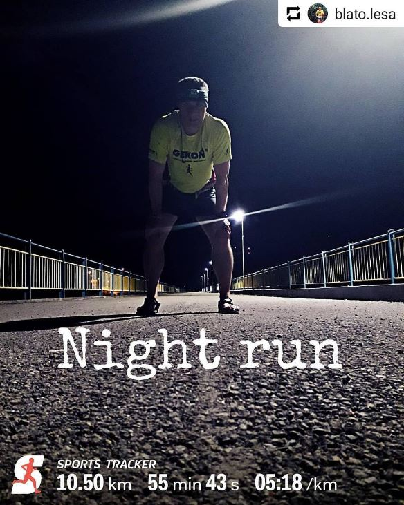 Night runner and night mode