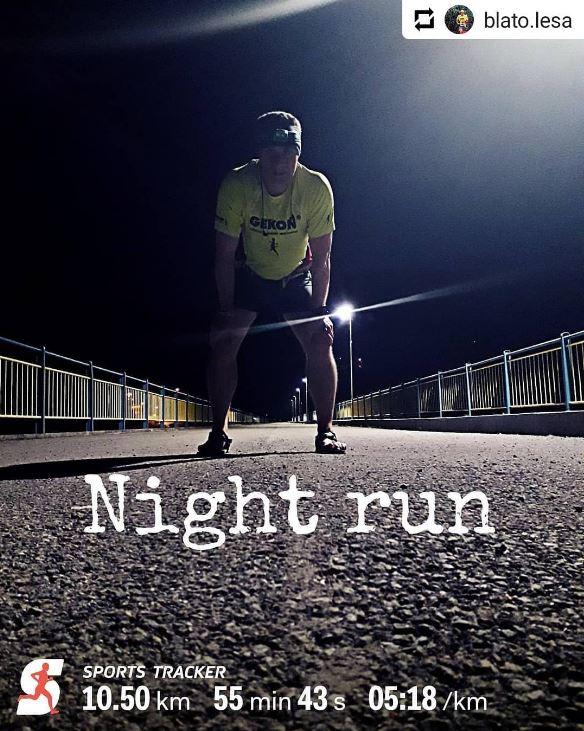 Night runner and night mode