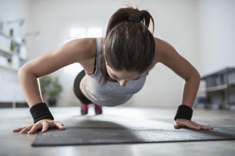 Sports Tracker push ups