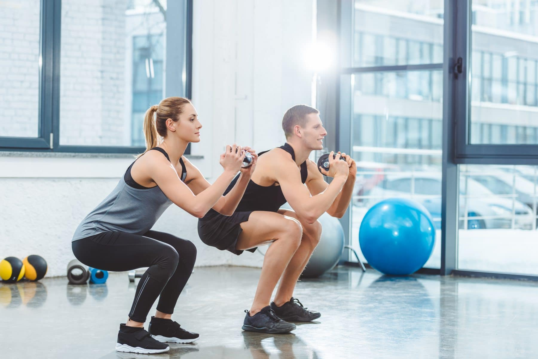 Sports Tracker home gym
