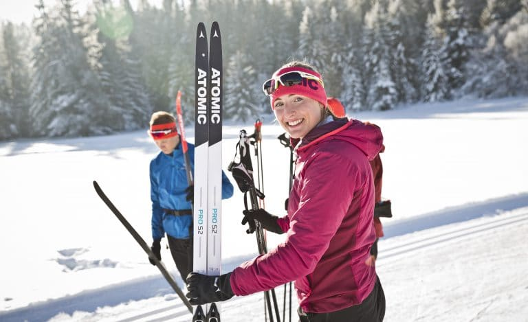 Sports Tracker Atomic skiing