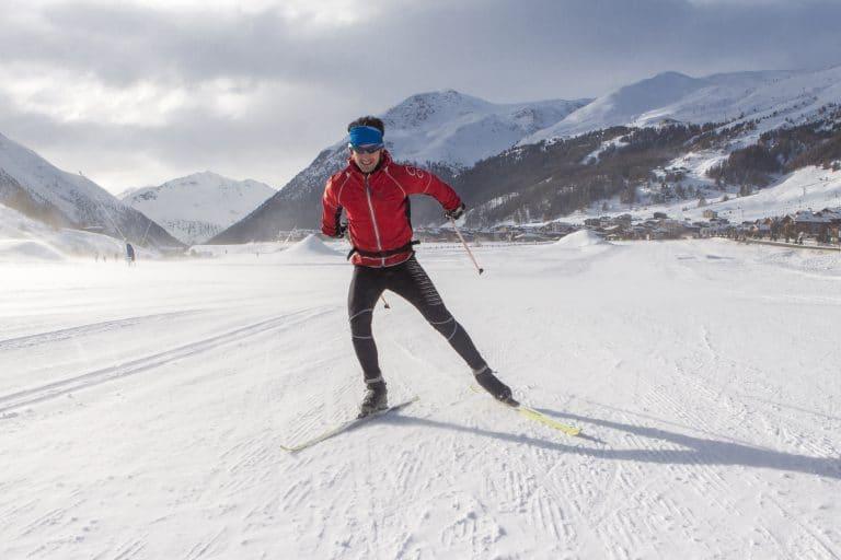 Sports Tracker hiihtäjä