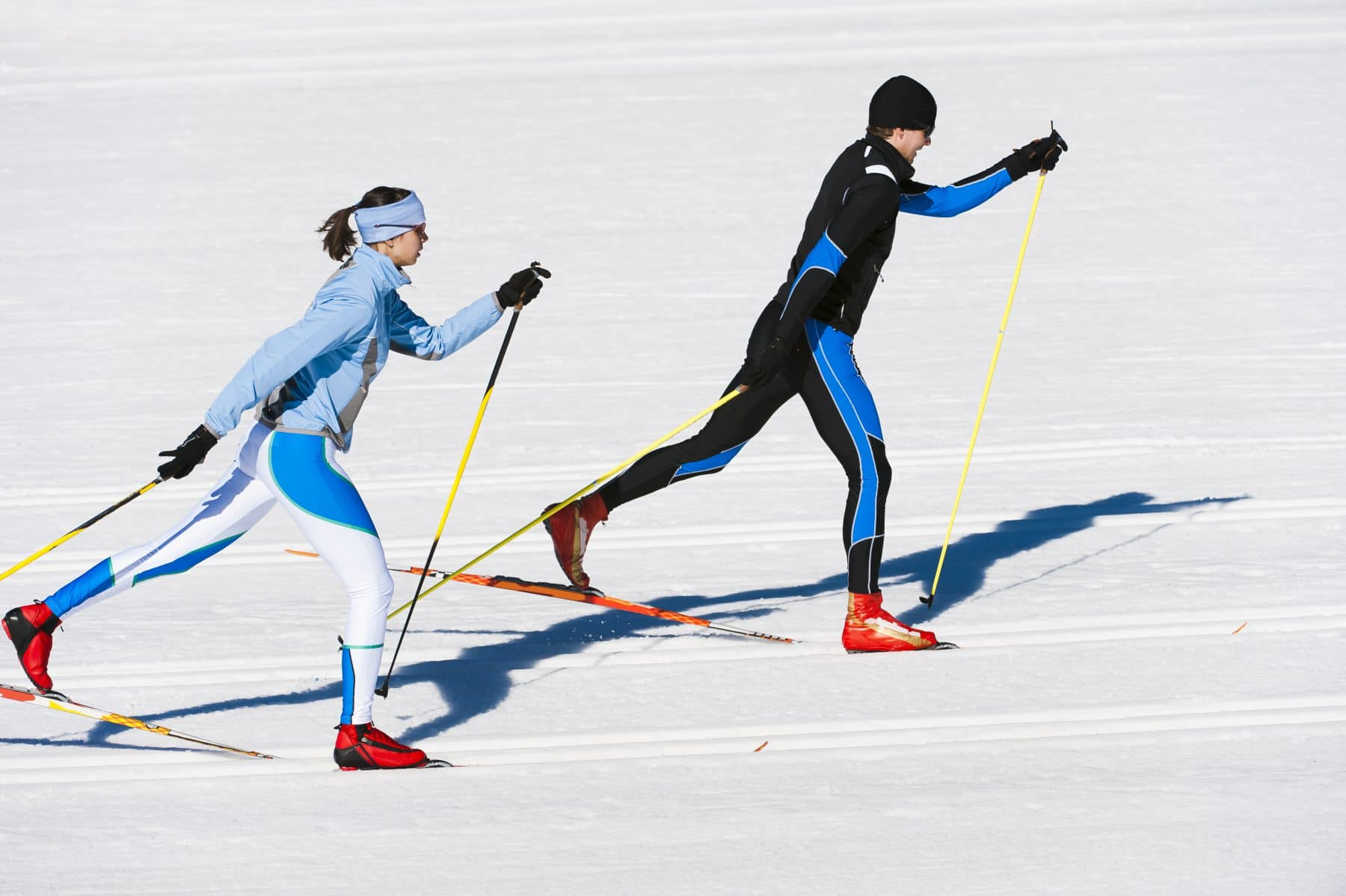 Sports Tracker skiers