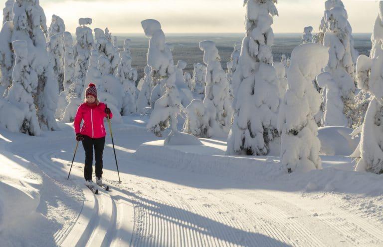 Sports Tracker Nordic skiing