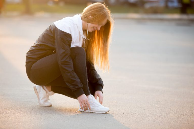 Sports Tracker prepartaion for walking