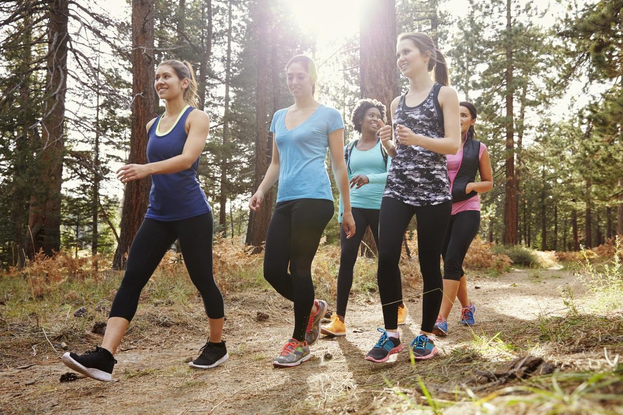 Sports Tracker walkers
