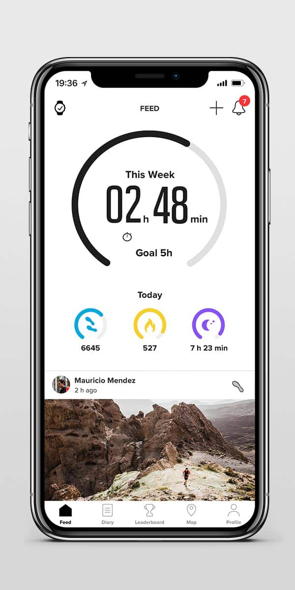 2. Download the Suunto app from App Store.