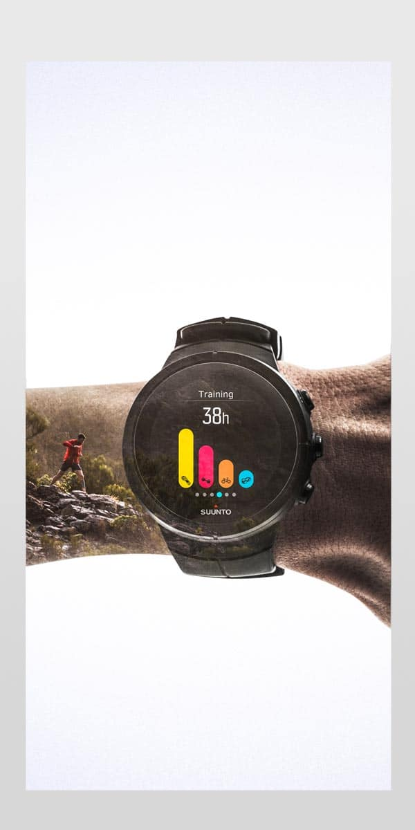4. Now you can use Sports Tracker app seamlessly with your Suunto watch.
