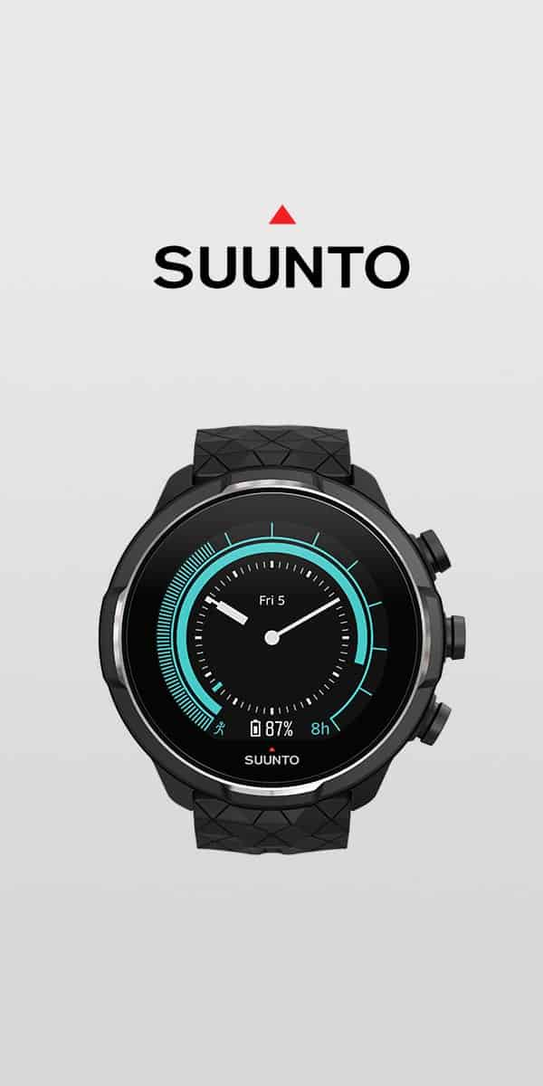 1. Buy a Suunto watch.
