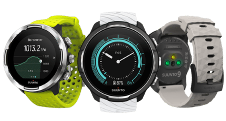 Sports Tracker compatible Suunto watch