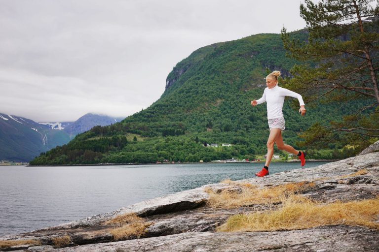 Ida Nilsson running with Sports Tracker
