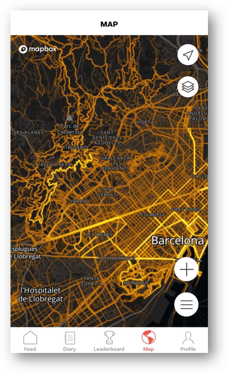 3. Browse the most used routes - heatmaps
