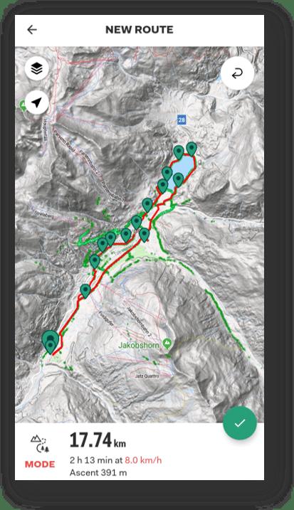 Davos Sports Tracker