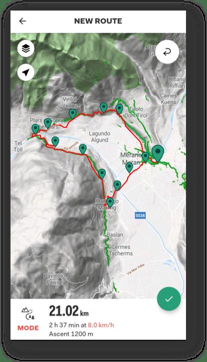 Tyrol Sports Tracker