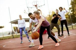Sports Tracker basketball, ball