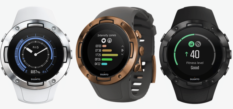 Suunto 5 watches for swimming