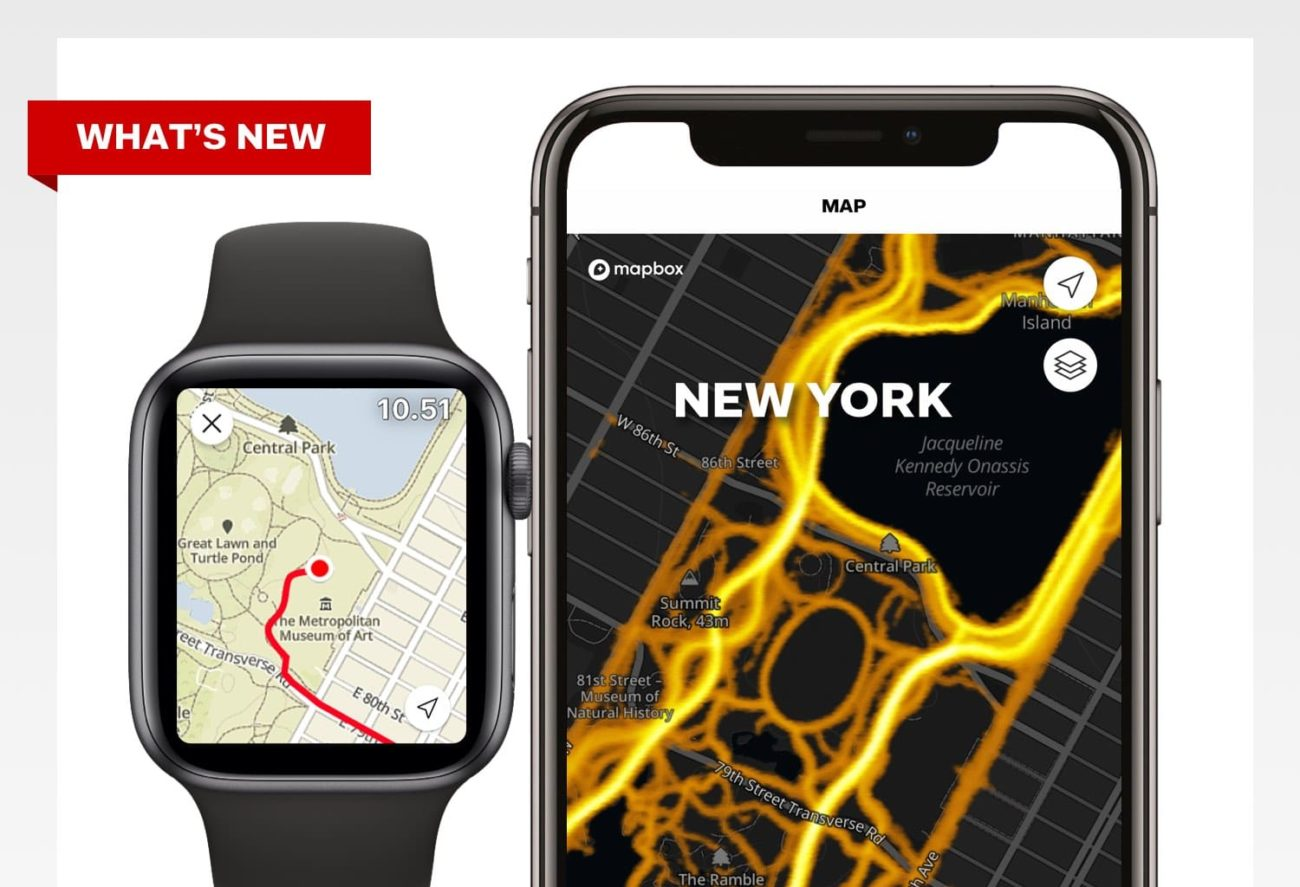 apple watch heatmaps